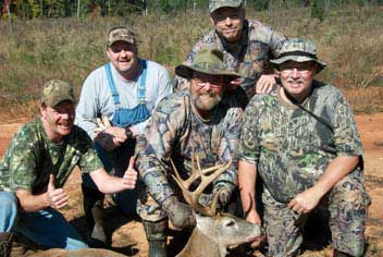 GrizzlySam Happy Customers with deer